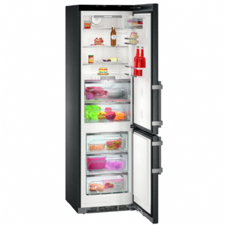 LIEBHERR CBNPbs4858 Premium BioFresh No Frost Fridge freezer with Biofresh | Black Steel